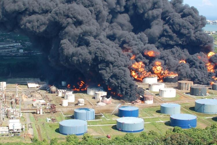 Peores desastres de la industria química