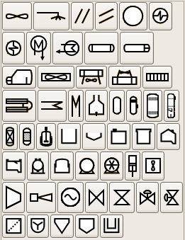 Simbolos para Procesos Quimicos (imagen)